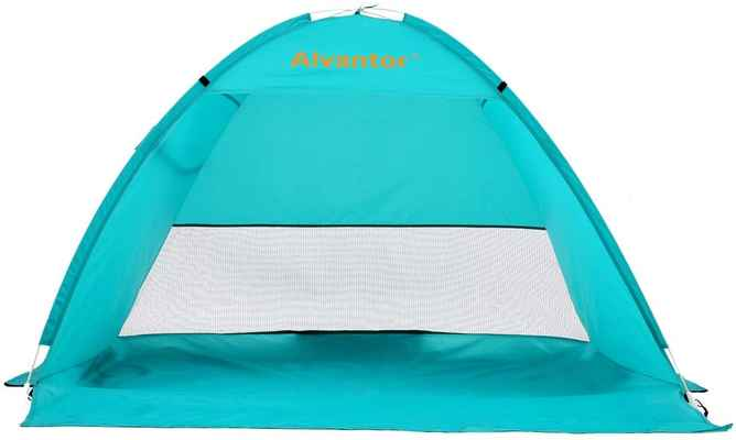 #10. Alvantor Lightweight Windproof Easy Setup Pop-Up UPF 50+ Beach Umbrella Outdoor Sun Shelter