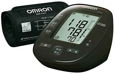 #1. Omron HEM-7271T Superior-Quality Japanese Menu Human Blood Pressure Monitor