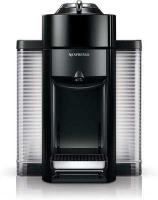 #4. Nespresso by De'Longhi ENVI35B Simple-1-Touch Coffee & Nespresso Machine (Black)