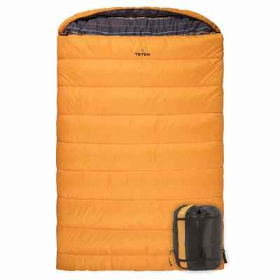 10.TETON Sports Queen Size Warm & Comfortable Double Sleeping Bag for Family Camping