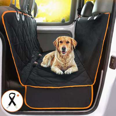 #10. Doggie World w/Extra-Side Flaps Waterproof Machine Washable Dog Car Seat Cover