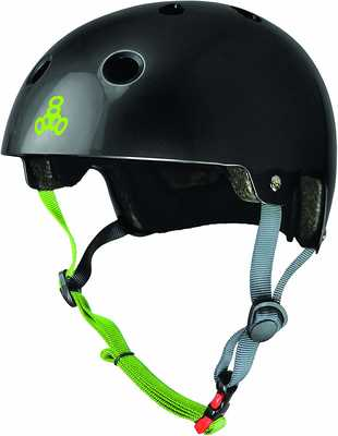 #9. Triple Eight ABS Shell & Impact-Absorbing EPS Foam Liner Deal Skateboarding & Bike Helmet