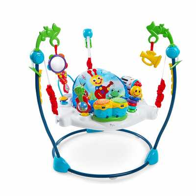 #7. Baby Einstein Adjustable Height Music Themed Neighborhood Symphony Activity Center