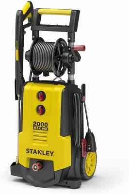 #7. Stanley SHP2000 Medium Powerful Leak-Proof Connection Electric Power Washer (Yellow)