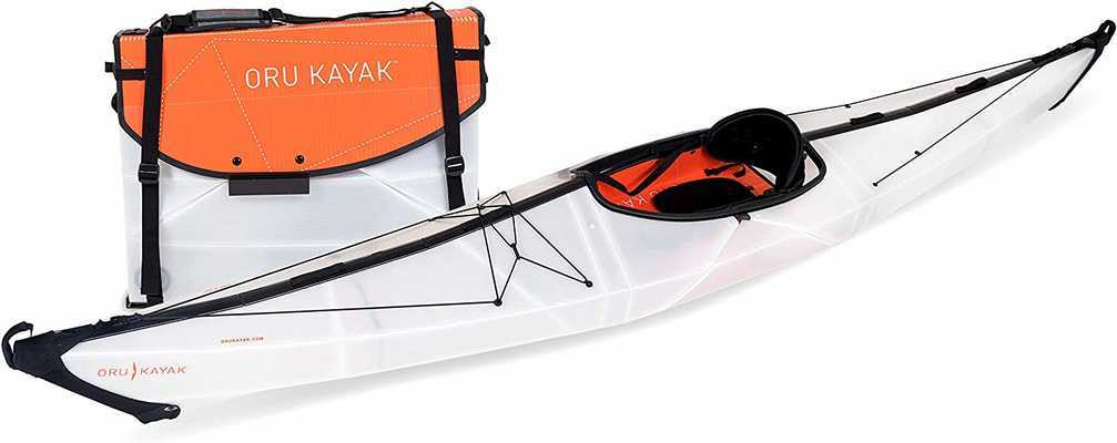 #7. Oru Kayak Stable Durable Lightweight Perfect Outdoor Foldable Kayak for Fishing & Adventure