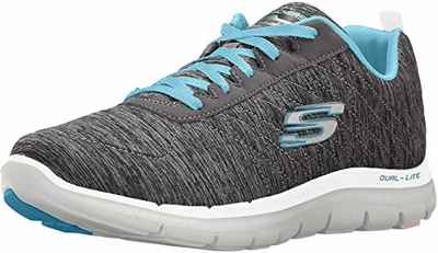 #9. Skechers Flexible Padded Collar & Tongue Women's Flex Appeal 2.0 Sneakers for Running