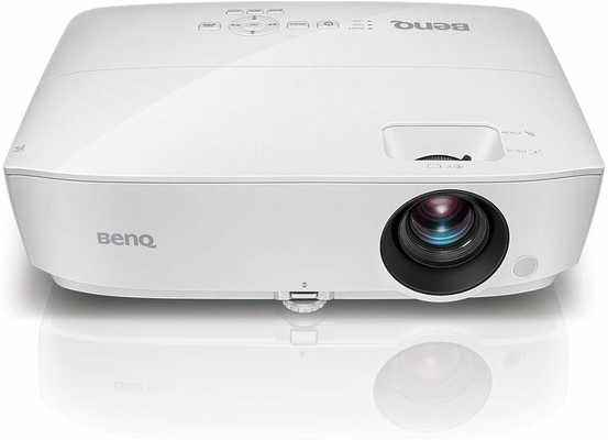 #1. BenQ MW526AE WXGA 3300 Lumens 1080p HDMI Vibrant DLP Color Projector for Home & Office