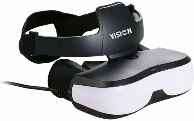 #6. VISIONHDM Bigeyes H1 584PPI 2.5K with HDMI Input Lightweight 3D Video Glasses