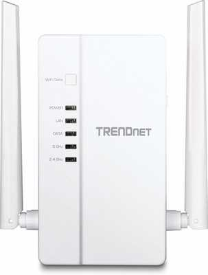 #10. TRENDnet TPL-430AP Cross Compatible Wi-Fi Clone Powerline 1200 AV2 AC1200 Wireless Extender