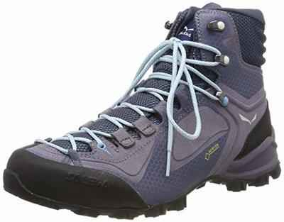 8. Salewa Mountain Trainer mid Gore Leather Rubber Sole 3F System TEX Boots for Men