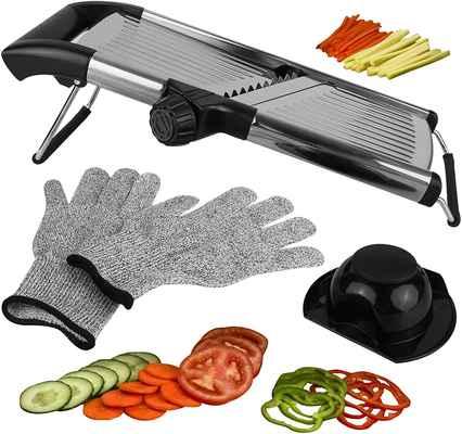 #7. Medove Stainless Steel Adjustable Blade Mandoline Slicer Vegetable Potato Slicer Onion Cutter