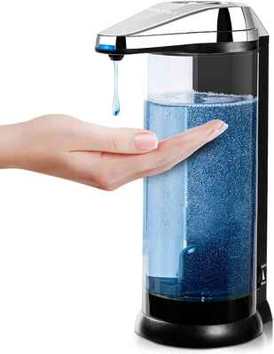 #3. Secura 17 Oz. Touchless Premium Battery Operated Automatic Soap Dispenser (Chrome)
