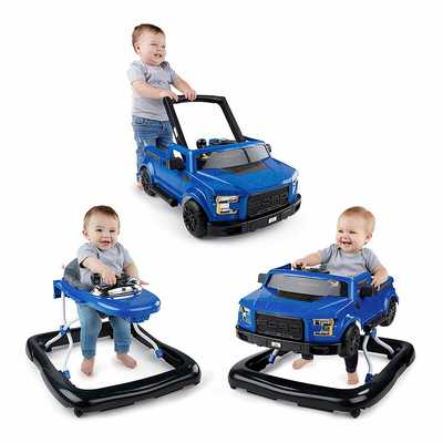 #9. Ford F 150 Raptor 3 Ways to Play Walker by Bright Starts (Lightning Blue) for Ages 6months Plus