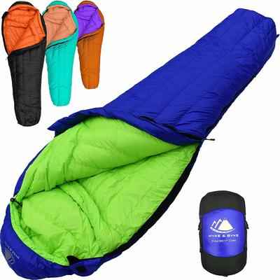 1. Hyke & Byke Eolus Ultra-Lightweight with Cluster Loft Base Backpacking Sleeping Bag