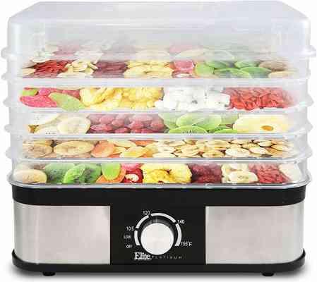 #10. Maxi-Matic Elite Platinum EFD 1159 Multi-Tier Electric Food Dehydrator Food Preserver Machine