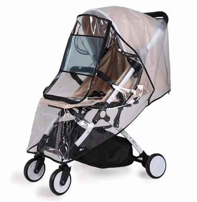 10. Bemece Windproof Waterproof with Rain Cover Universal Baby Travel Shield Stroller