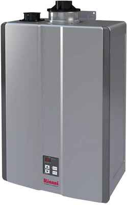 #10. RINNAI Gas/10 RU180 in-Natural 10GPM Indoor Electric Tankless Hot Water Heater
