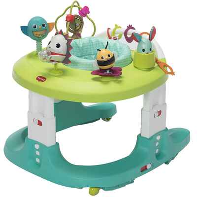 #1. Tiny Love 4-in-1 Meadow Nests Compactly Grow Baby Walker & Mobile Activity Center for Infants