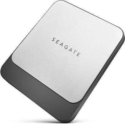 #6. Seagate STCM1000400 1TB USB-C USB 3.0 Fast External SSD for Mac Laptop & PC