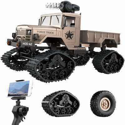 #7. REMOKING 4WD 2.4 GHz All-Terrain with Wi-Fi HD Camera RC Hobby Toy Military Truck