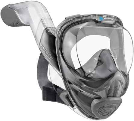 #7. WILDHORN OUTFITTERS 180 Degree V2 Advanced Breathing Unit Full Face Snorkel Mask