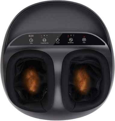 #2. RENPHO Relieve Foot Distress Shiatsu Deep Kneading Foot Massager Machine for Men Size 12