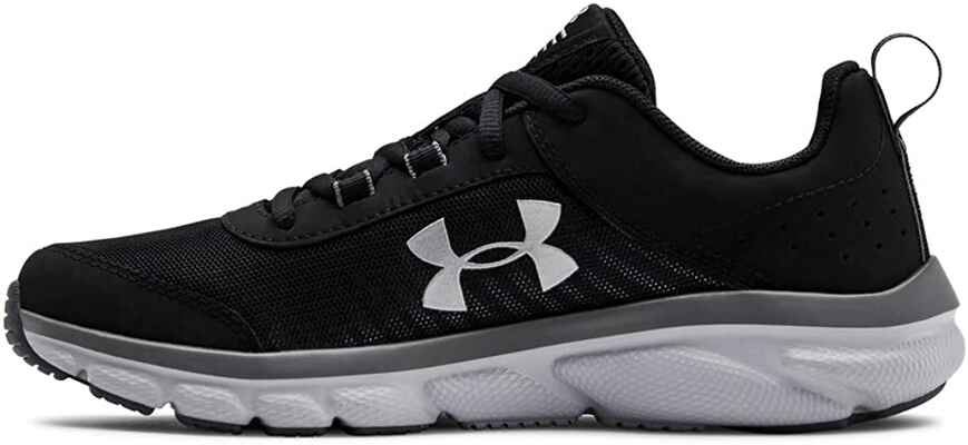 #1. Under Armour Low Top Polyester Supportive Unisex-Child Grade Assert 8 Sneakers
