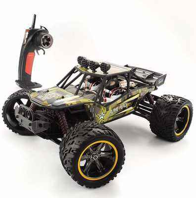 #4. GPTOYS 1:12 Hobby Grade Big Monster Easy to Control Remote Control RC Truck (Army Green)
