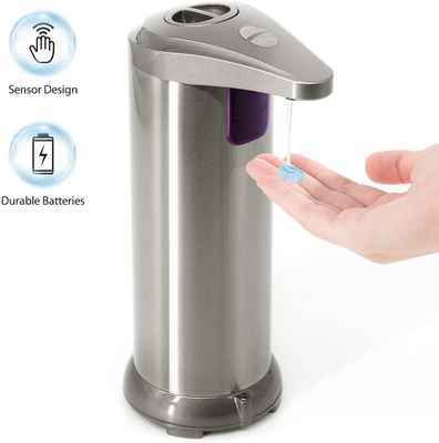 #7. TROPRO Touchless Automatic Infrared Motion Activated Hands-Free Soap Dispenser