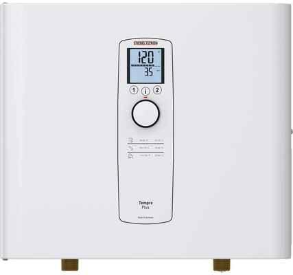 #1. Stiebel Eltron 23 Eco On-Demand Hot Water Tempra 29 Plus Tankless Water Heater (White)