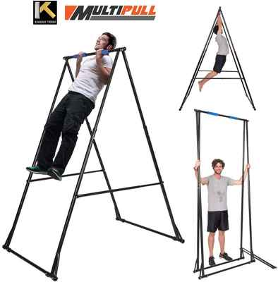 #3. KT KHANH TRINH Support 385lbs ABS Adjustable Pull-Up Indoor Men's Pull Up Bar