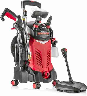 #3. Powerhouse International Electric High Power 3000 PSI 2.2 GPM Electric Pressure Washer (Red)