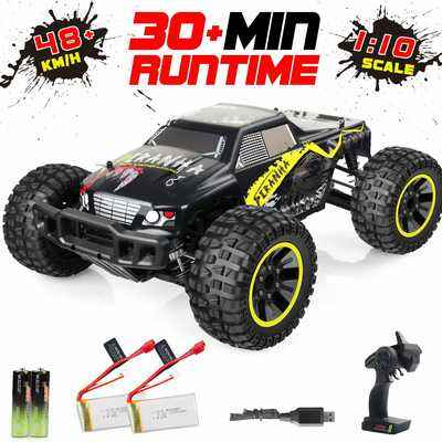 #1. VCANNY Large Size 1: 12 Scale High-Speed 40Km/h 4WD Electric Remote Control RC Truck