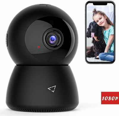 8. Victure 1080P Panoramic Viewing Wi-Fi Cloud Storage Home Wireless Security Camera