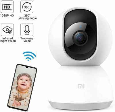 6. Mi PTZ 1080P HD Night Vision Waterproof Tracking Outdoor Wireless Baby Monitor