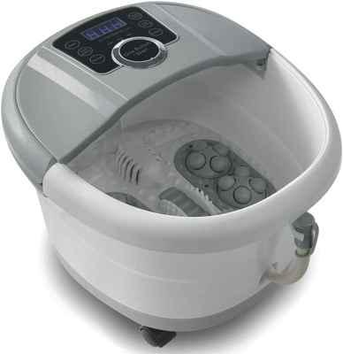 #4. MUCHOO Digital Adjustable Temperature Control Automatic Foot Spa Bath Massager w/Soak Tub
