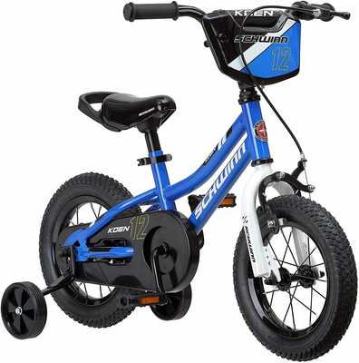 #7. SCHWINN Koen SmartStart Frame Boy's Balance Bike for 2 to 4 Years Old Kids
