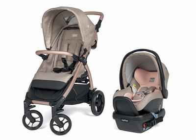 2. Peg Prego Mon Amor Primo Viaggio 4-35 & Booklet 50 Baby Stroller Travel Unit