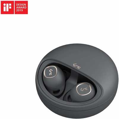 #2. AUKEY Bluetooth 5.0 24 Hour Playtime Deep Bass USB-C & Qi True Wireless Earbuds Series T10