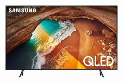 4. Samsung QN55Q60RAFXZA 55-Inch OLED Q-60 Series Lightweight Ultra-HD Flat Smart TV