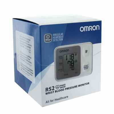 #6. Omron RS2 HEM-6161-E Quick & Accurate Advanced Digital Blood Pressure Monitor