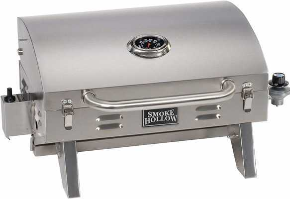 #1. Masterbuilt SH19030819 Smoke Hollow PT300B Tabletop Propane Grill (Latest Version)