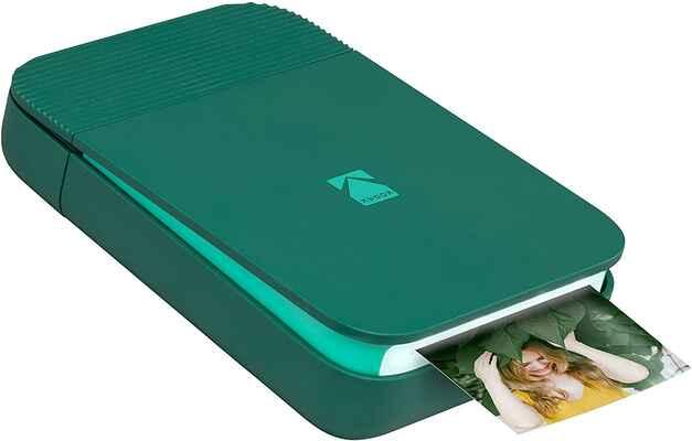 #7. ZINK Trendy Pop-Open Design Bluetooth Smile Instant Mini Portable Printer (Green)