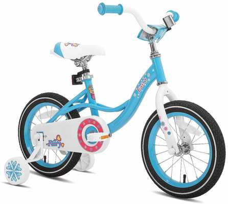 #9. JOYSTAR Wheels 85% Assembled Toddlers' Balance Bike for 2-7 Years Old