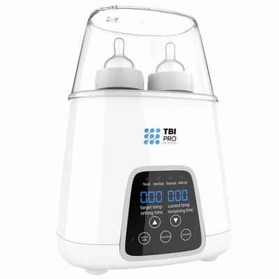 9. TBI Pro Bottle Warmer 5-in-1 BPA-Free Sterilizer with Timer Quick Warmer for Baby Food