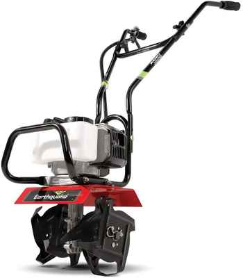 #2. EARTHQUAKE Easy to Carry Lightweight 31452 MAC Powerful 33cc Tiller Cultivator