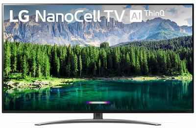 9. LG 55SM8600PUA 55'' Nano 8 Series 4K HDR Ultra-HD Nano Cell 2019 Model – (Black)