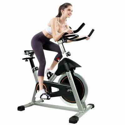 5. ATIVAFIT 40 Lbs. Flywheel Cycle IPad Holder Indoor Cycling Bike for Home Cardio Workout