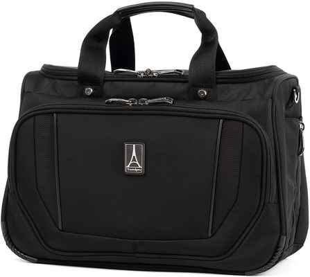 #3. Travelpro One-Size Jet Black Quick Access High-Density Ballistic Deluxe Tote Bag