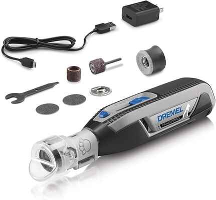 #1. Dremel Safe & Humane Cordless Rechargeable Claw Grooming Kit Dog Nail Grinder & Trimmer